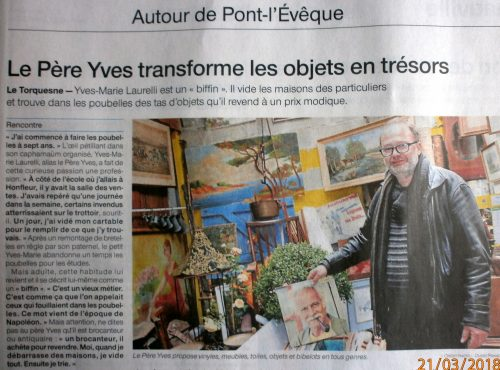 le p re yves dans ouest france. Black Bedroom Furniture Sets. Home Design Ideas