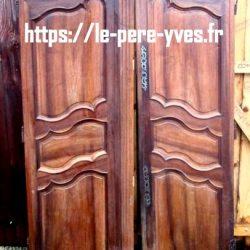 portes anciennes armoire les deux