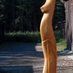 statuette plongeuse biais