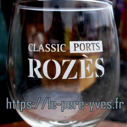 verres à porto rozes pm détail