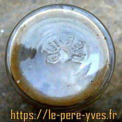 verres dorés pernod dessous